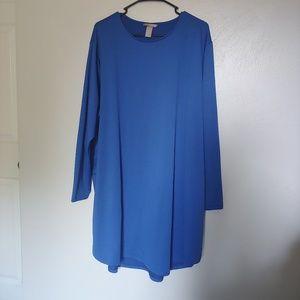 H&M plus long sleeve dress